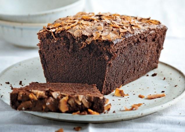 Cake chocolat coco