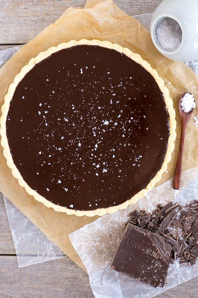 Tarte chocolat8